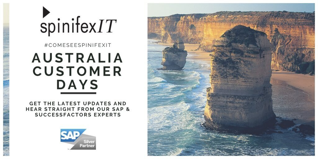 SpinifexIT is at Australia customer days