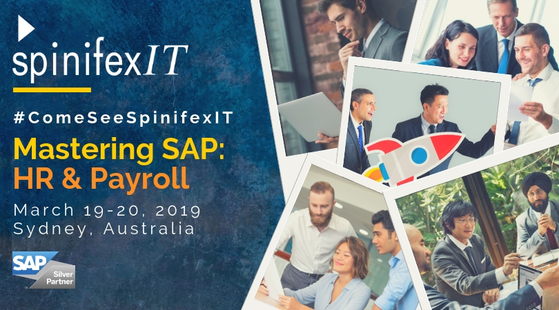Spinifexit at mastering SAP HR and payroll 2019