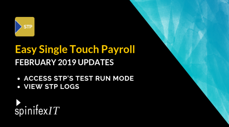 Easy Single Touch Payroll February 2019 updates