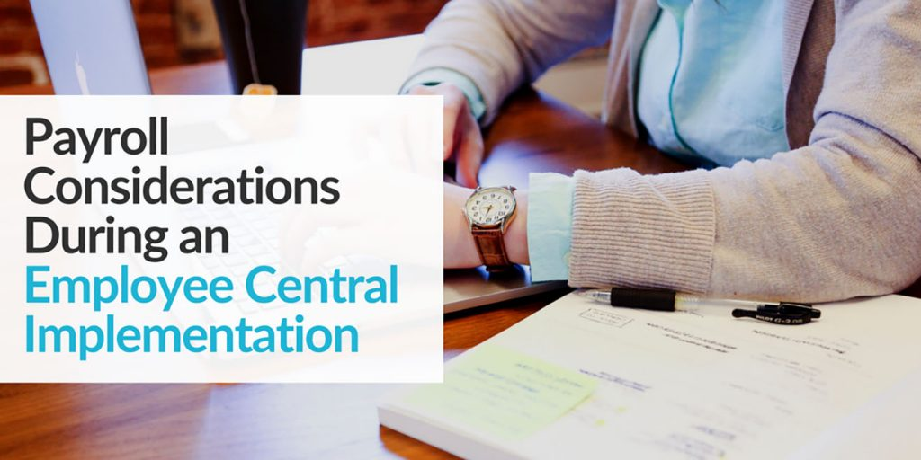 SpinifexIT Payroll considerations during an employee central implementation