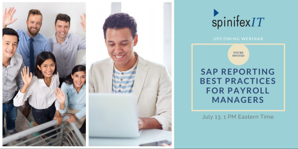 SpinifexIT webinar SAP reporting best practices