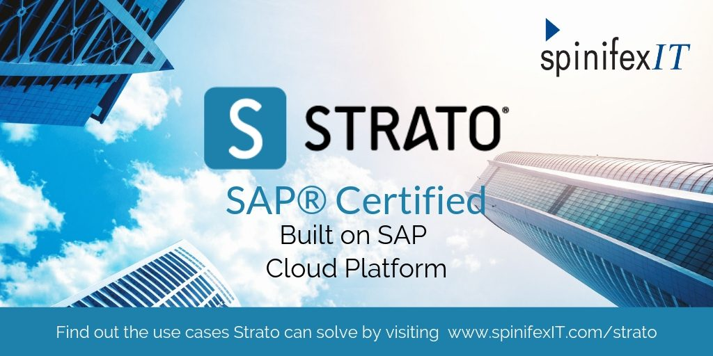 Strato SAP Certified Built on SAP Cloud platform