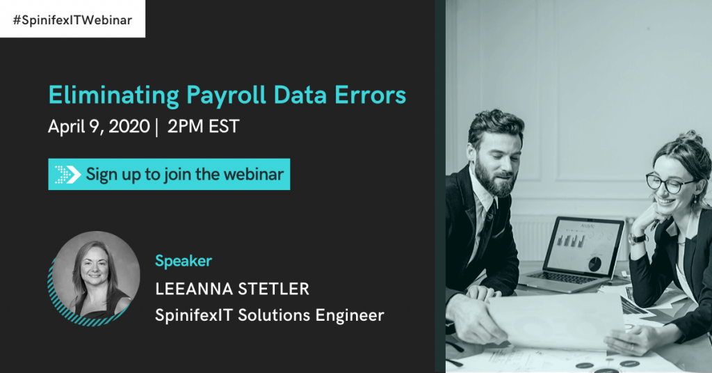 Eliminating Payroll Data Errors