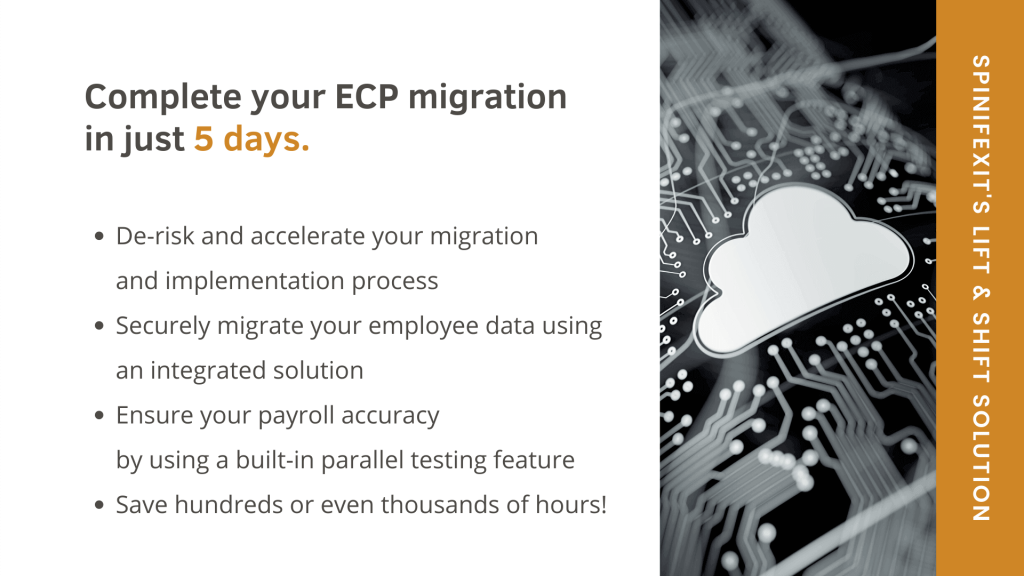 SpinifexIT_April 2020 blog_Taking your Employee Central Payroll system to the next level part 2_Easy Migration